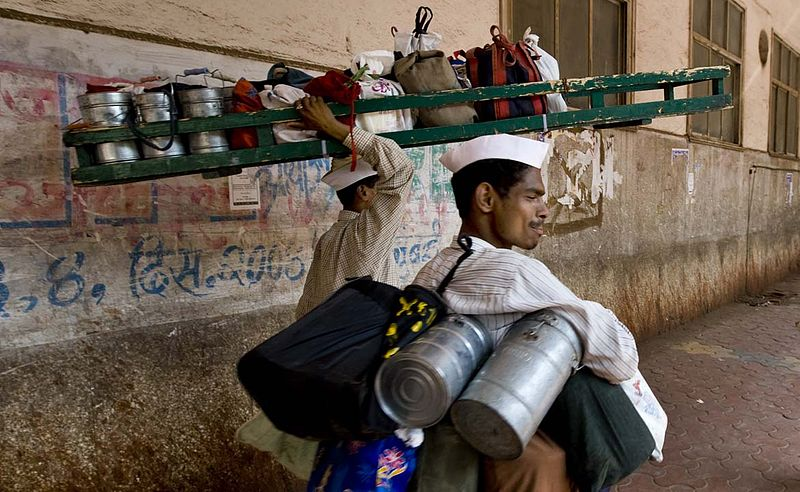 Filemumbai Dabbawala Or Tiffin Wallahs 200000 Tiffin