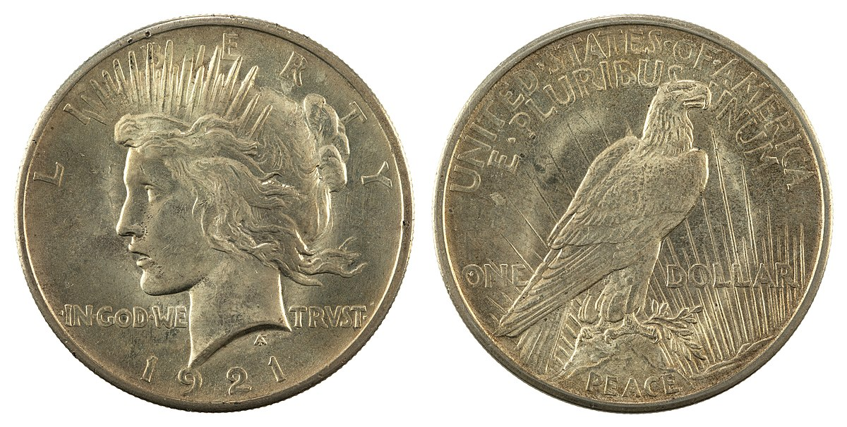 Peace dollar - Wikipedia