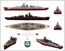 German Battleship Bismarck Wikipedia