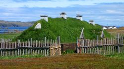 800px L%27Anse aux Meadows%2C recreated long house A Brief History of Urbanism: Pre Columbia Cities, Part 3