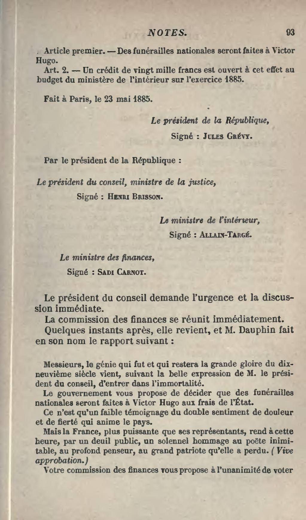 Budget Ministere Interieur Page Hugo Actes Et Paroles Volume 8 Djvu 103 Wikisource