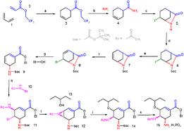 الكيمياء العضوية بالانجليزي 261px-Corey_oseltamivir_synthesis.png