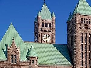 City hall of Minneapolis, Minnesota (USA).