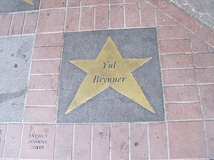 Walk of fame at the Orpheum Theater in Memphis...