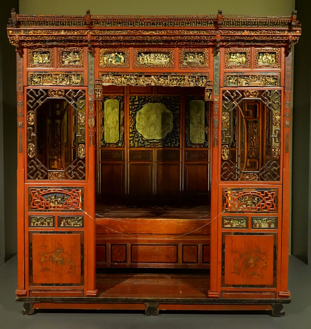 Japanese Canopy Bed Chinese Furniture Wikipedia
