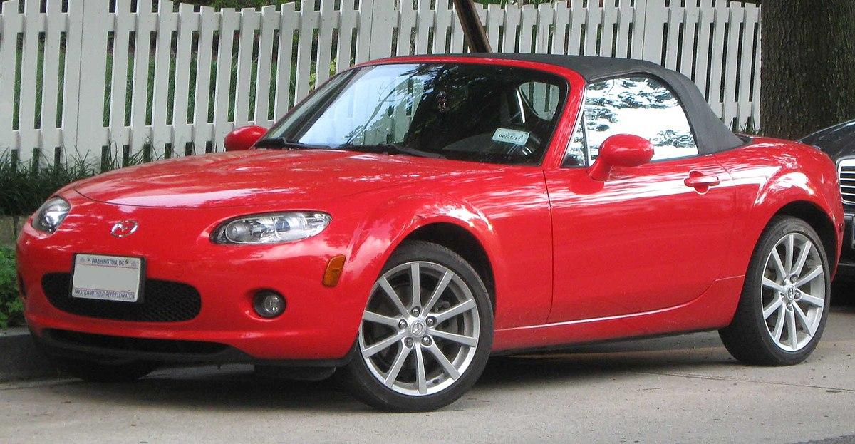 Mazda MX-5 (NC) - Wikipedia
