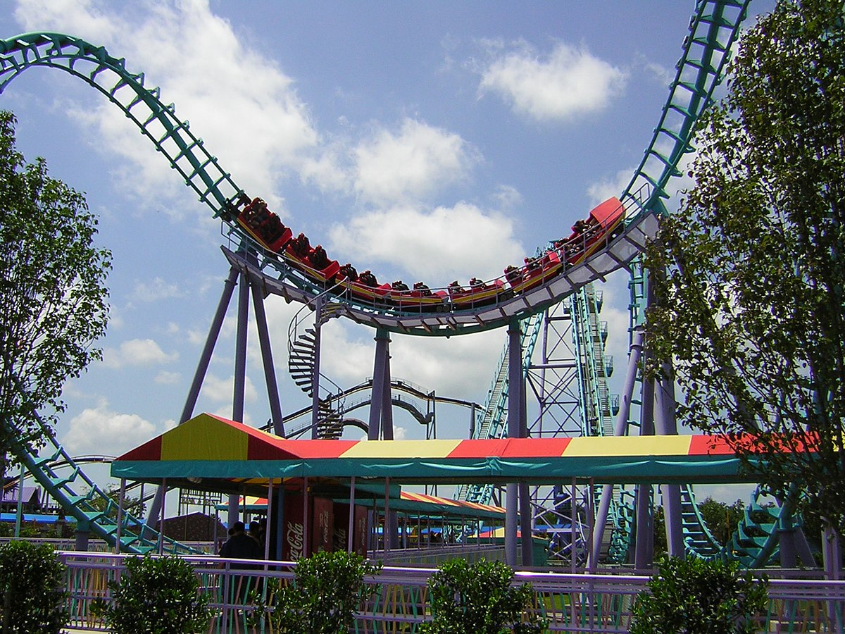 Six Flags Jazzland Zydeco Scream Wikipedia