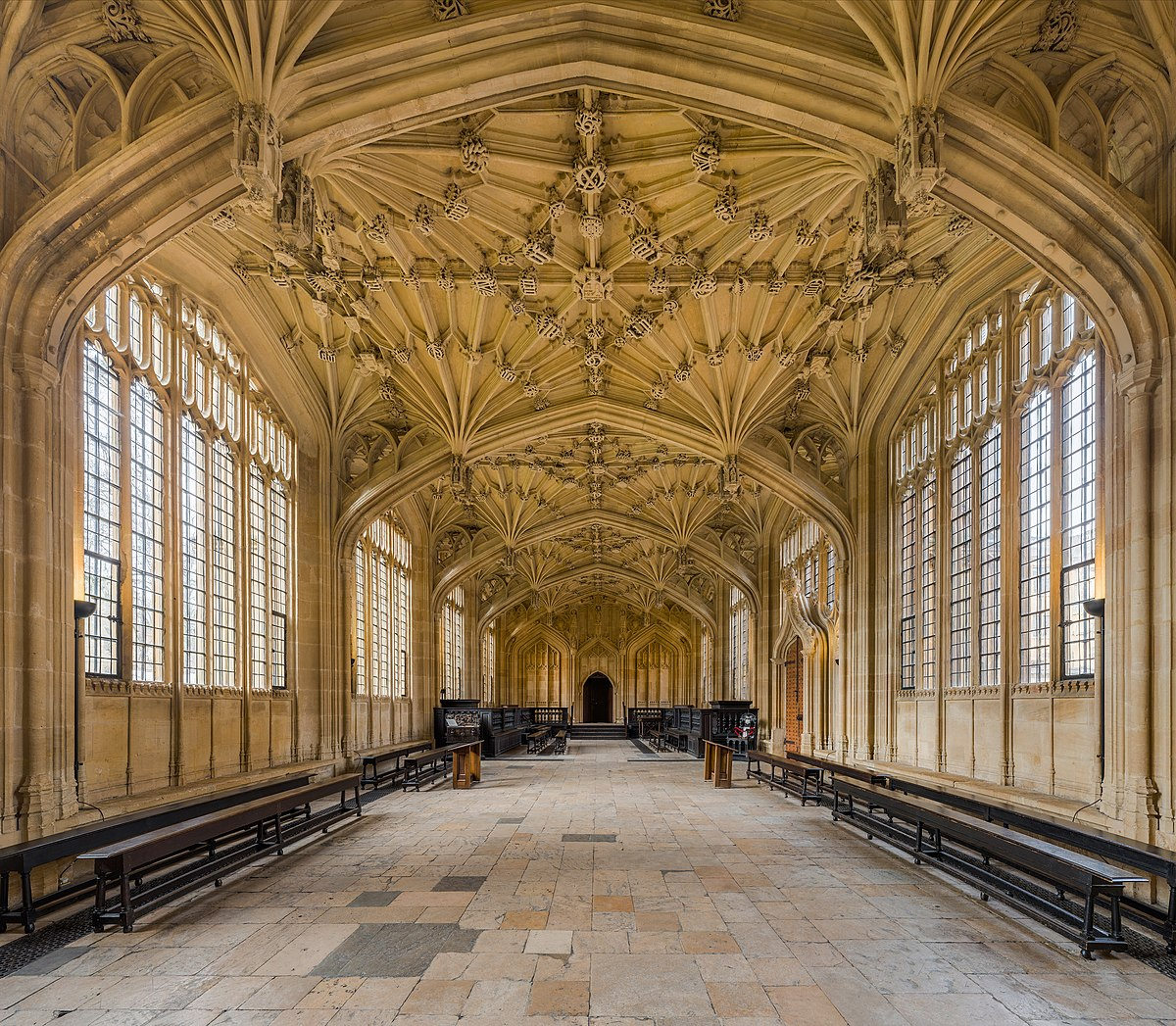 Bodleian Library Divinity School Oxford Wikipedia