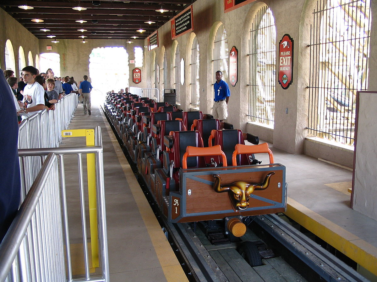 Tivoli World Amusement Park Station (attractie) - Wikipedia