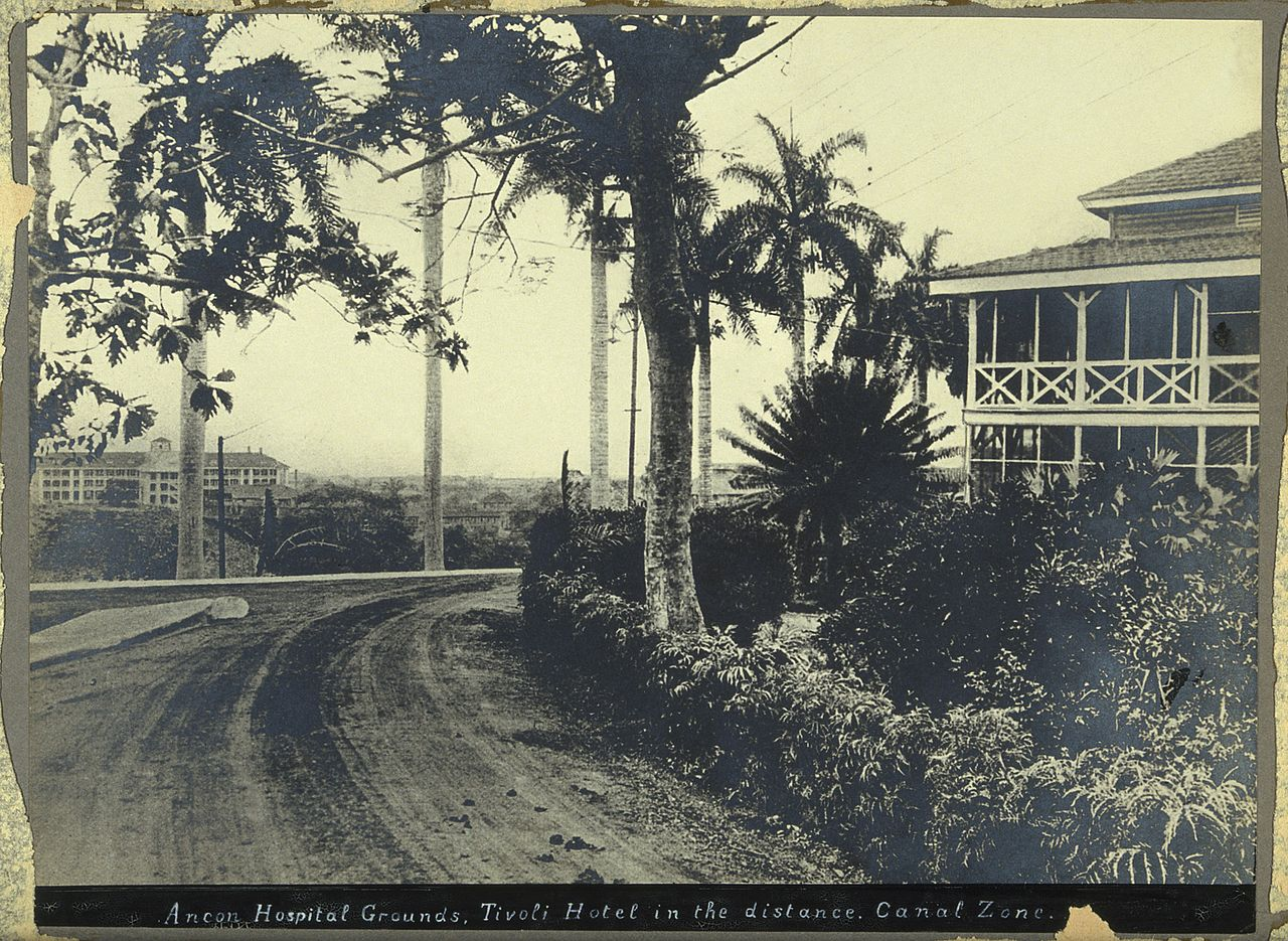 Tivoli Hotel Canal Zone File Ancon Hospital Grounds Panama Canal Zone The Tivoli