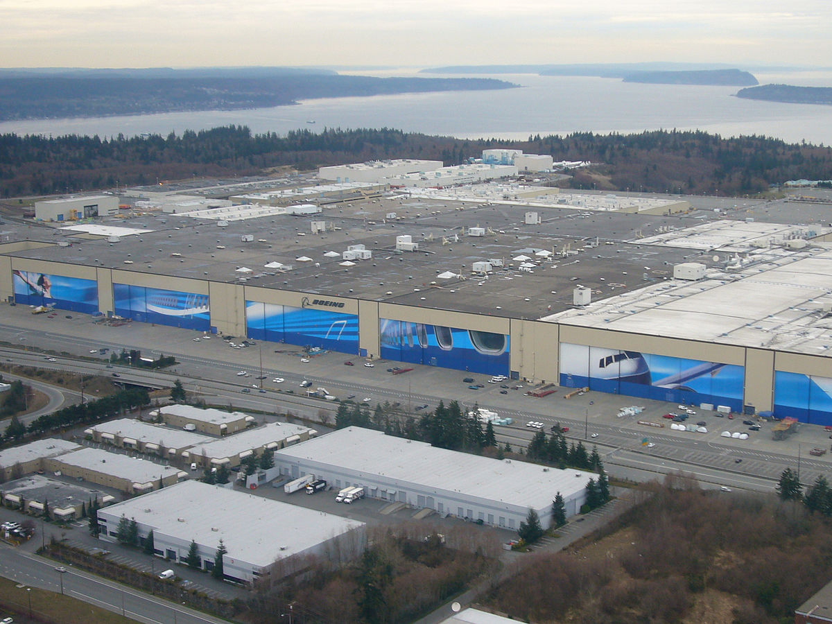 Boeing Everett Factory Wikipedia