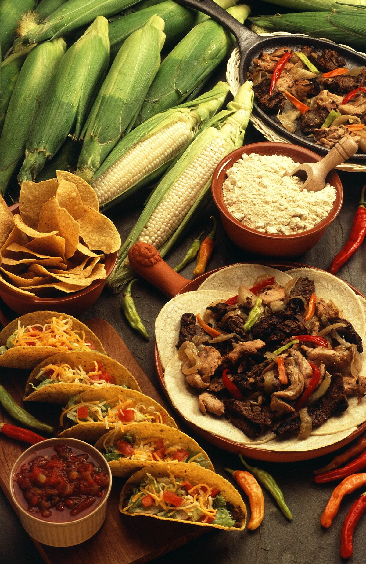 Cuisines Explained Tex Mex Wikipedia