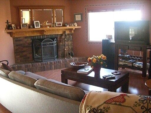 Family room in Camarillo, California, USA