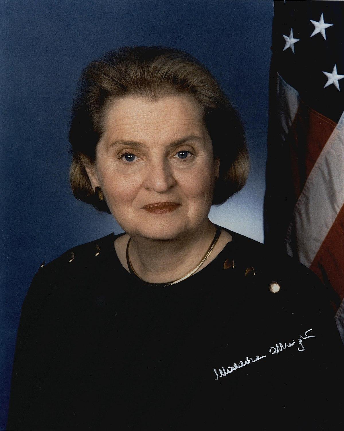 Madeleine Albright Wikipedia Bahasa Indonesia