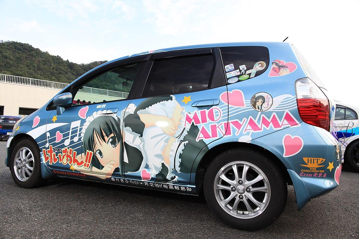Car Art Wallpaper 痛車 Wiktionary