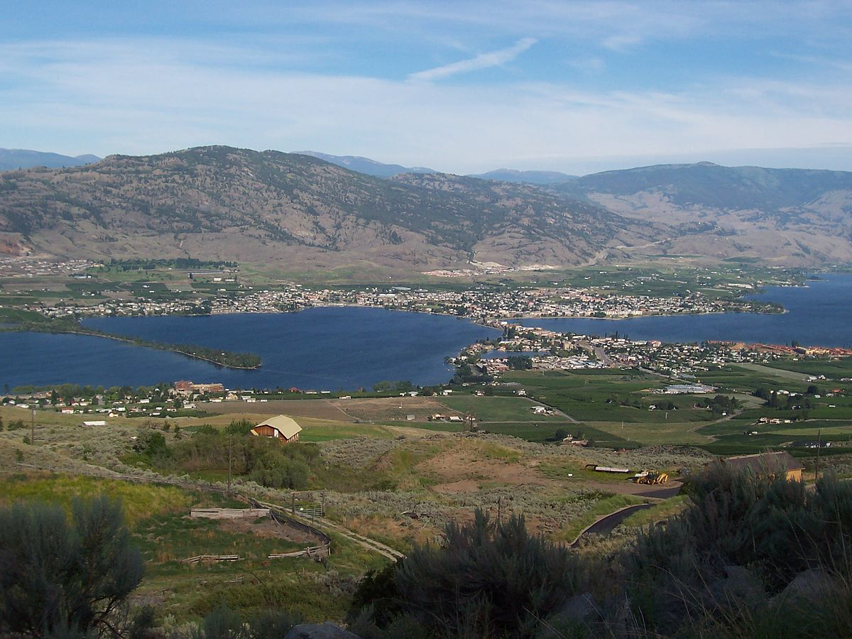 Fall Lake Wallpaper Osoyoos Wikipedia