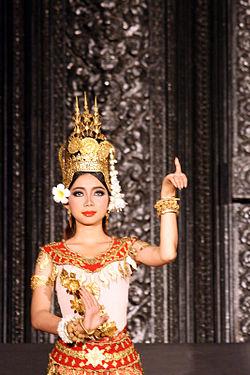 Beautiful Girl With Rose Wallpaper Robam Tep Apsara Wikipedia