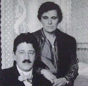 Picture of Carl Skottsberg and wife, Swedish p...