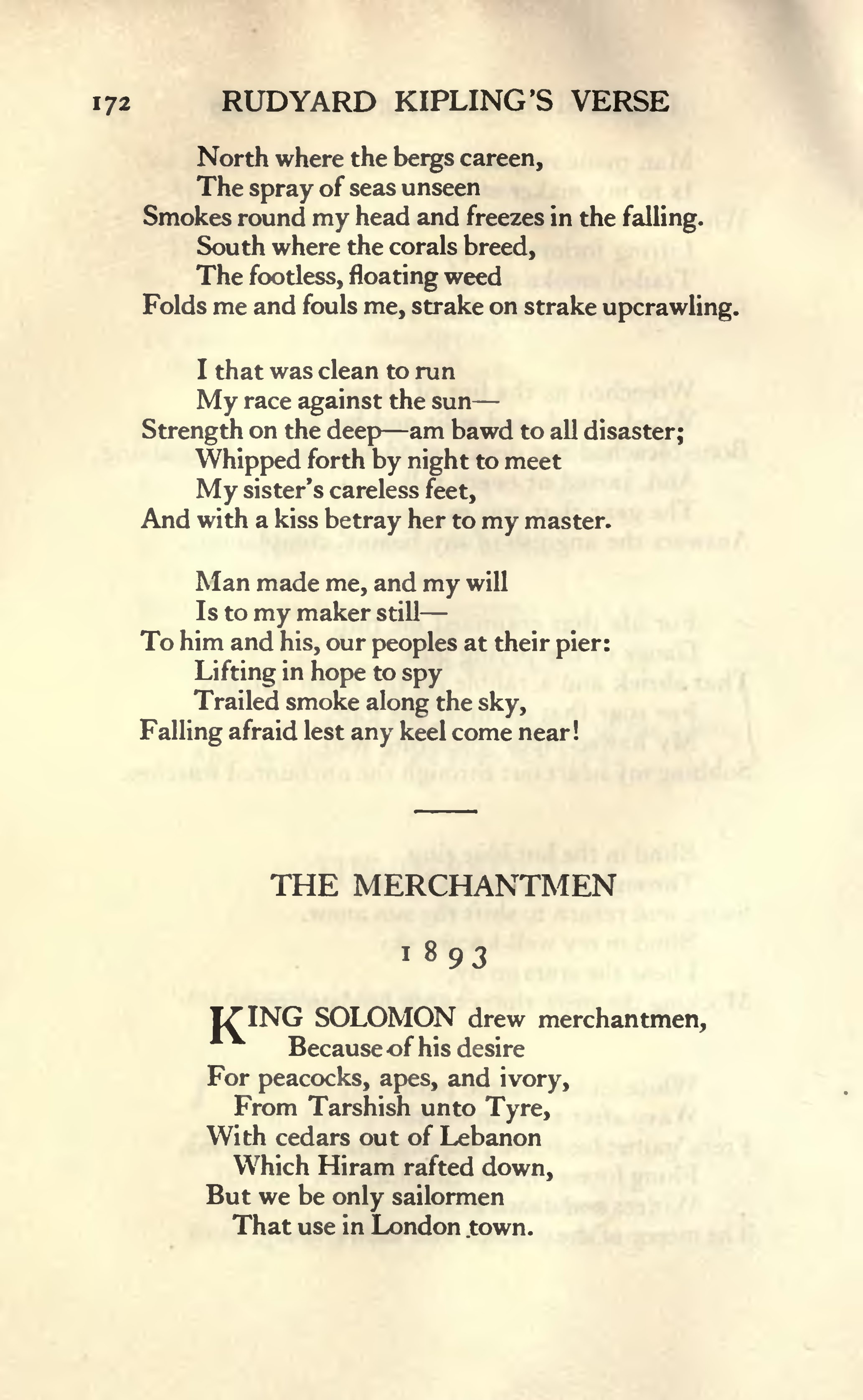 Read The Book Online Page:rudyard Kipling's Verse - Inclusive Edition 1885-1918