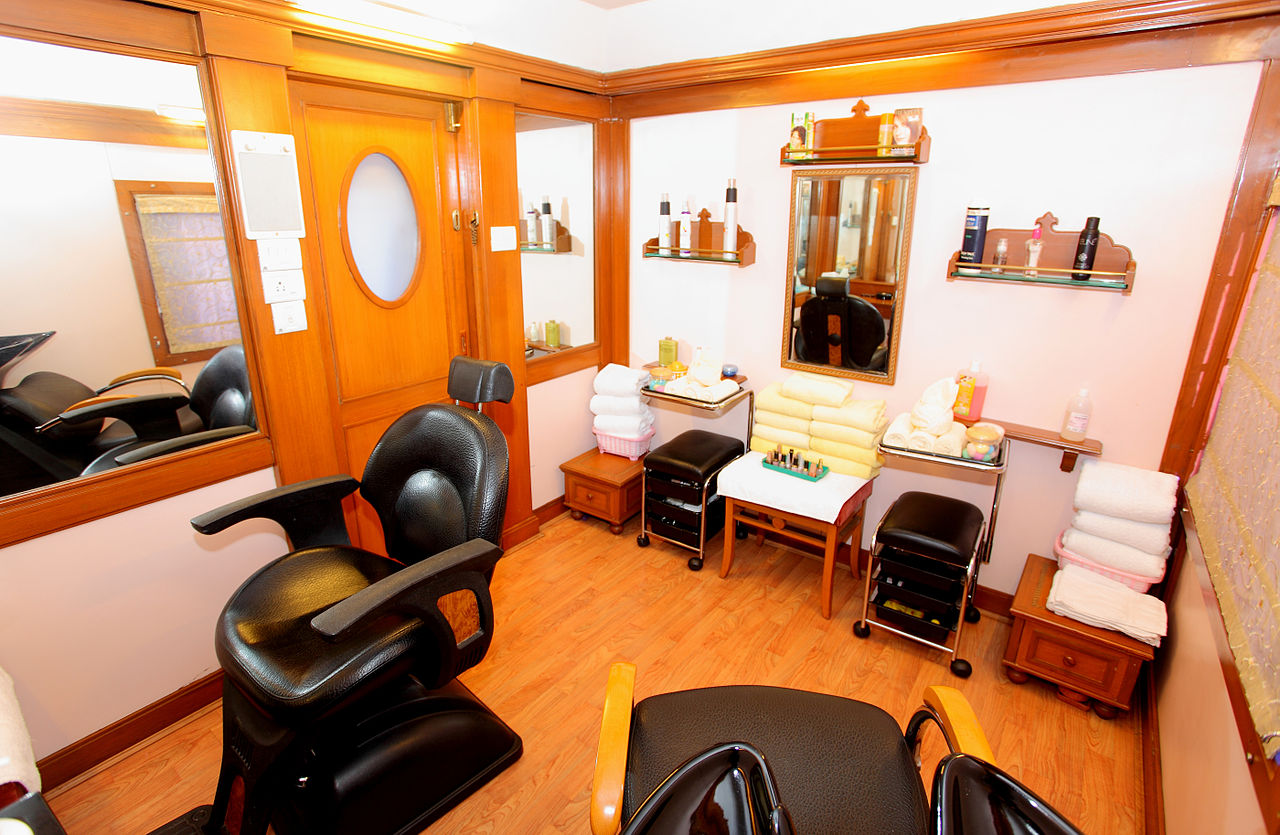 Beauty Hair Salon File The Indian Maharaja Deccan Odyssey Beauty Salon