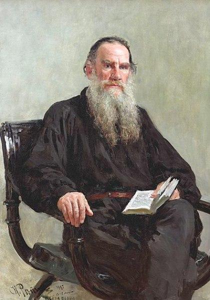 File:Ilya Efimovich Repin (1844-1930) - Portrait of Leo Tolstoy (1887).jpg