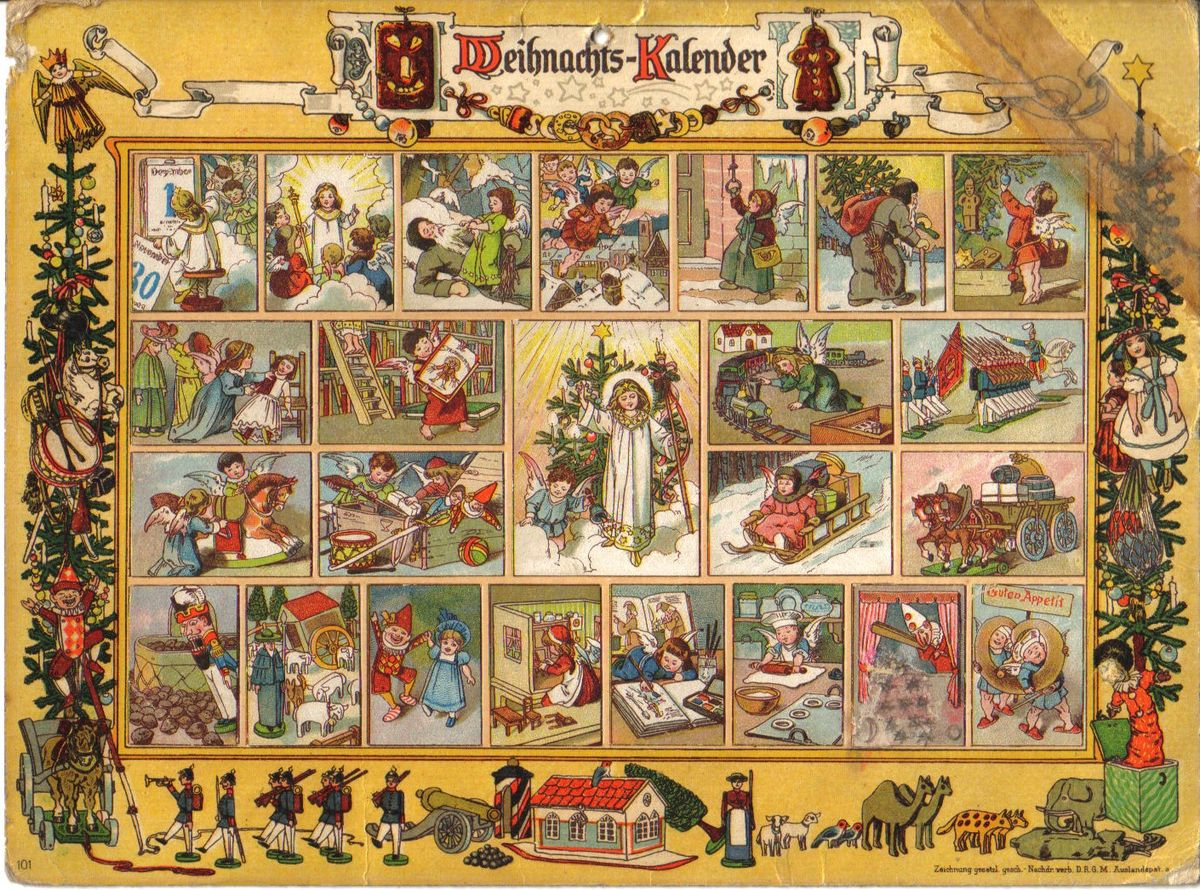 Deutsche Traditionen Adventskalender Wikipedia