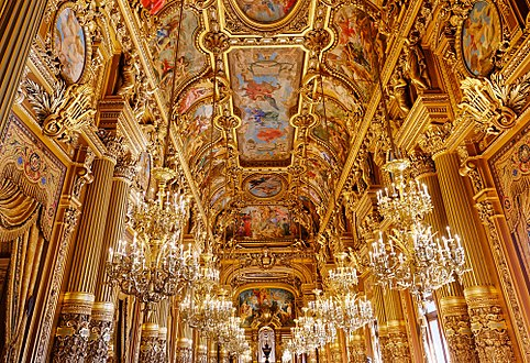 Canvas Hi Beautiful 3d Wallpaper Palais Garnier Wikipedia