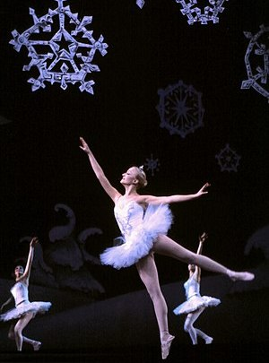 A performance of The Nutcracker ballet, 1981