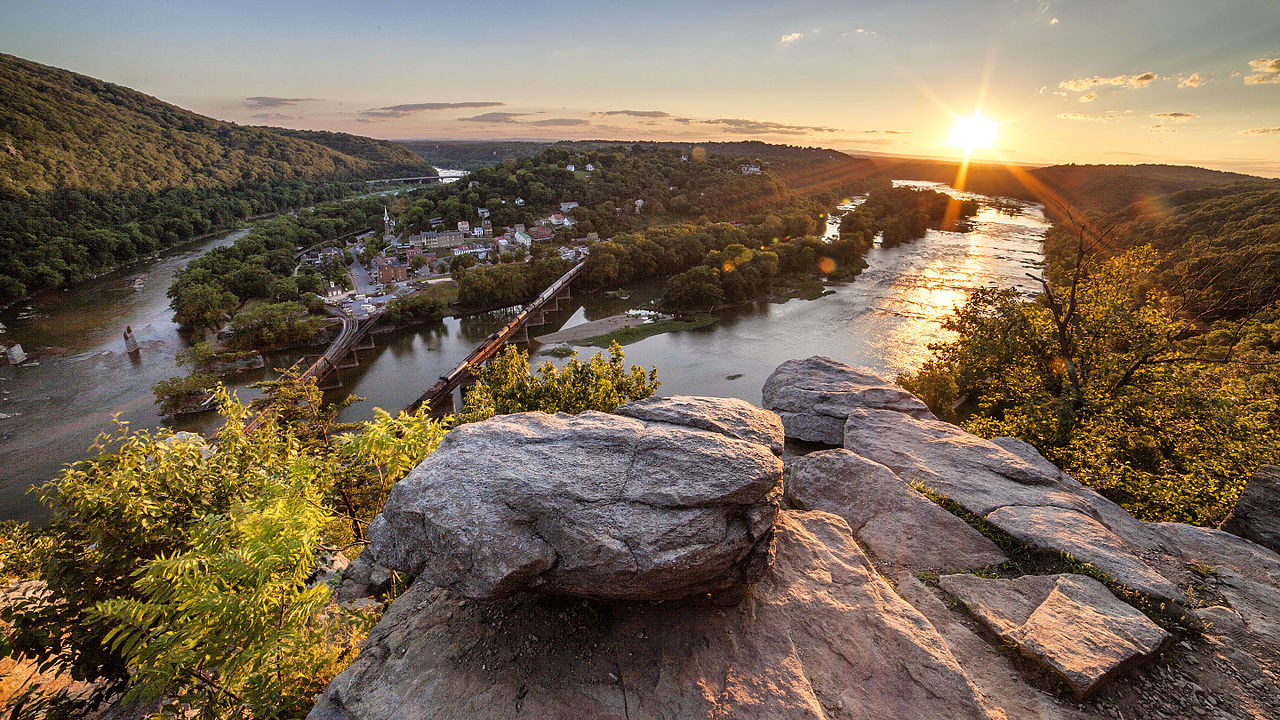Fall Foliage Wallpaper File View From Maryland Heights Overlook July 4 2014