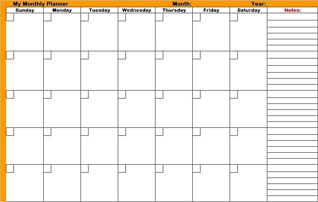 FileMonthly-planners-printable-plannersjpg - Wikimedia Commons