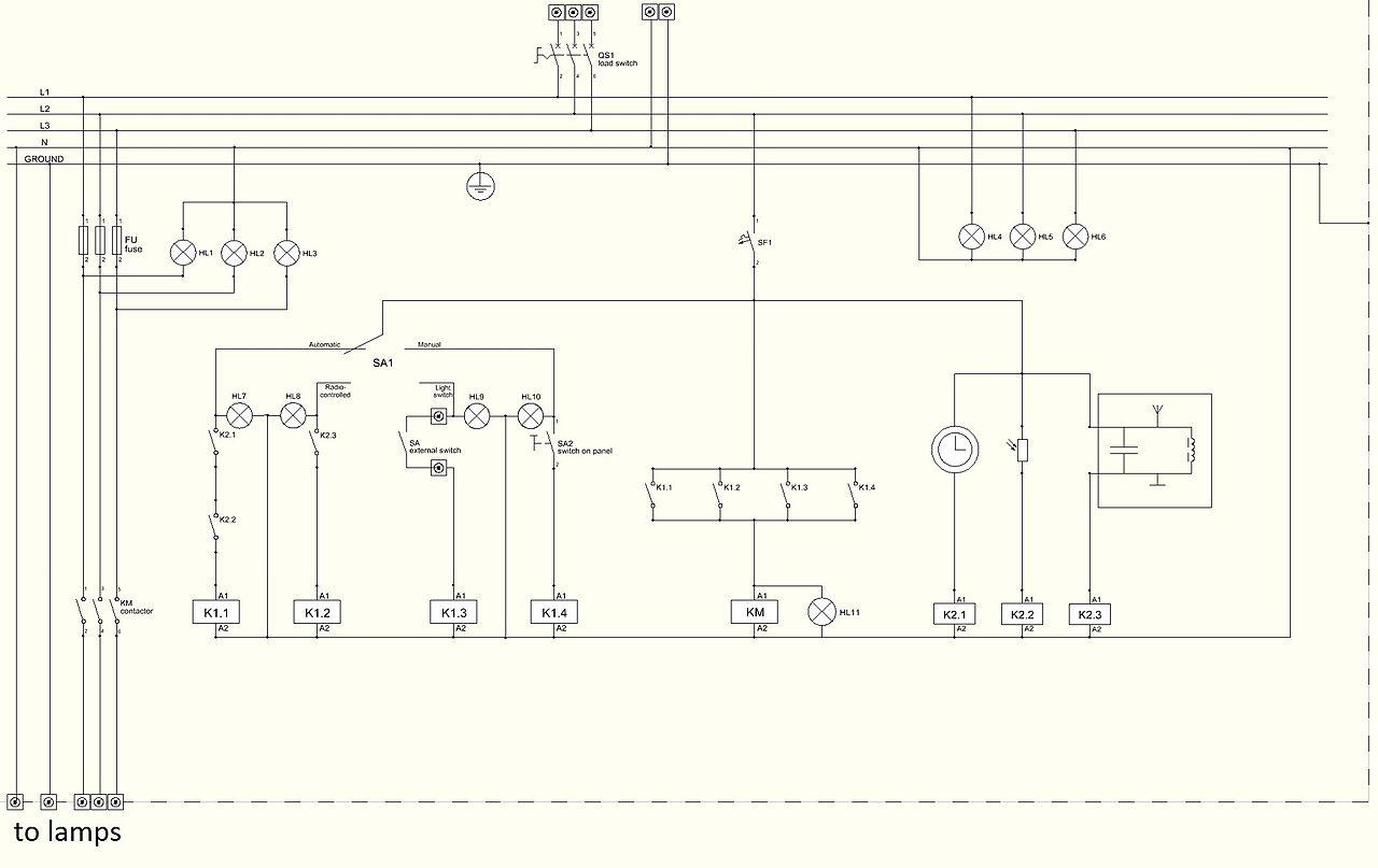 duplex control panel wiring diagram