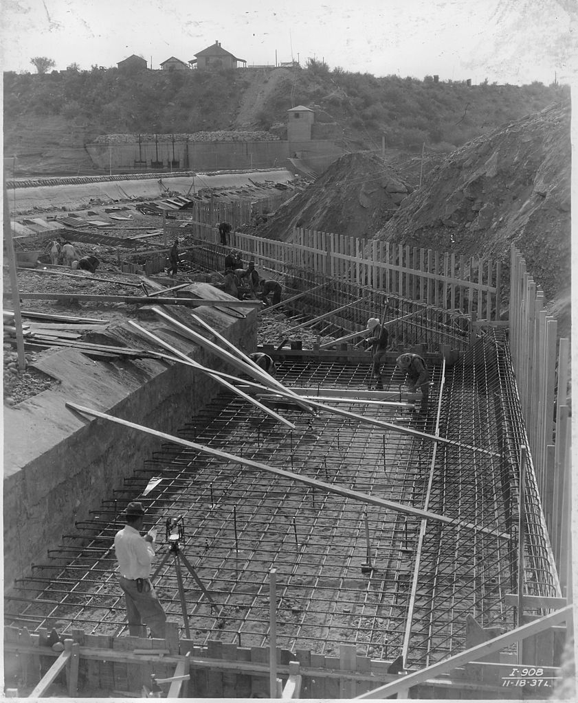 Construction Wikipedia Filequot;salt River Power Canal Diversion Dam View From