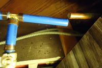 File:PEX pipes and valves in basement ceiling for exterior ...