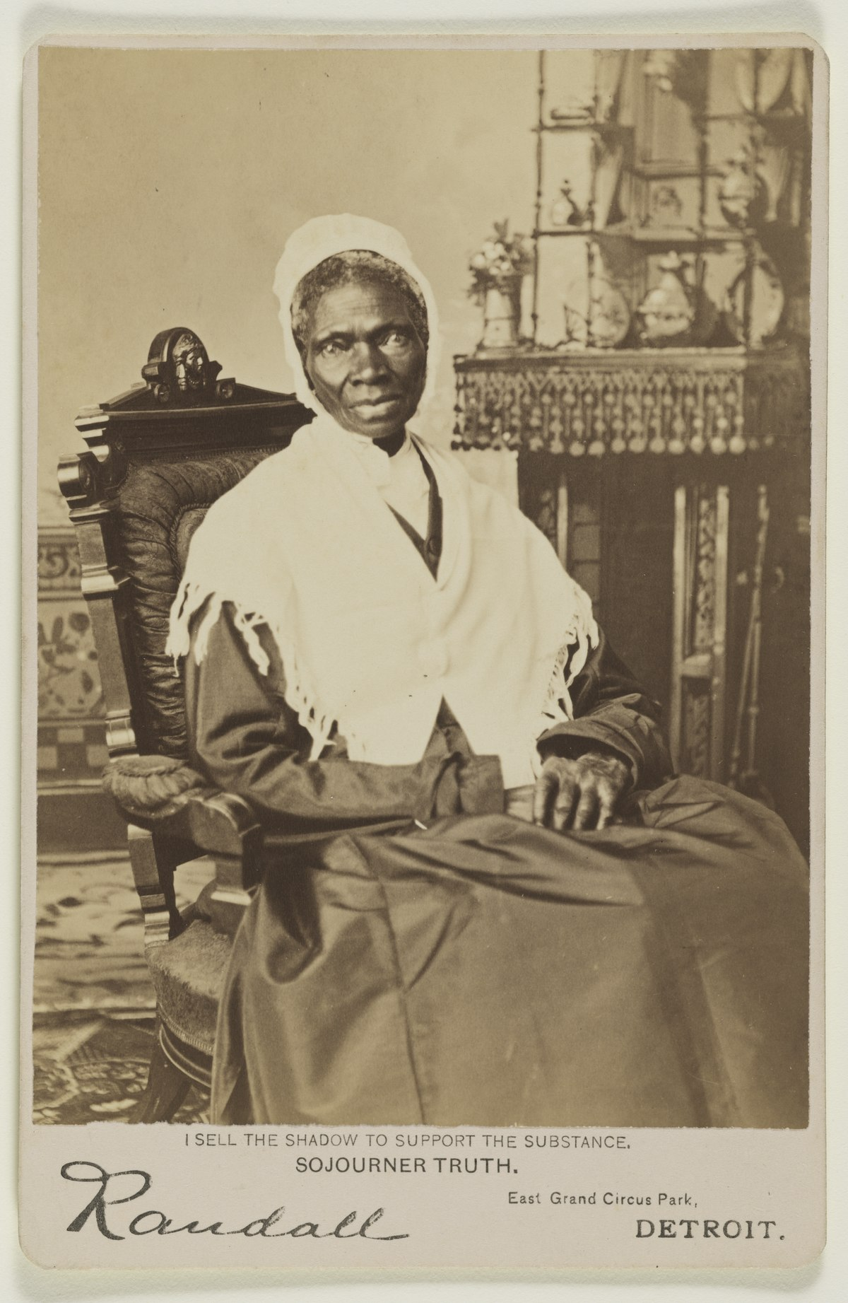 Aztec Kleed Sojourner Truth Wikipedia