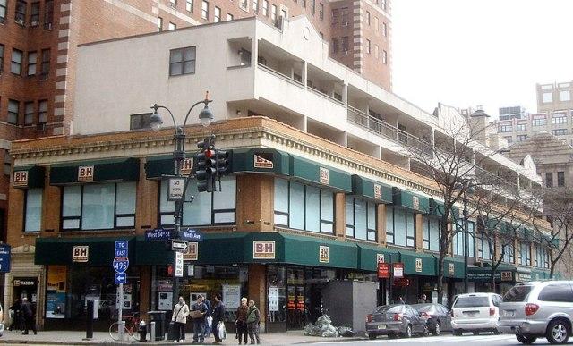B&H en Manhattan, en la esquina de la 9th Ave y la 34th St