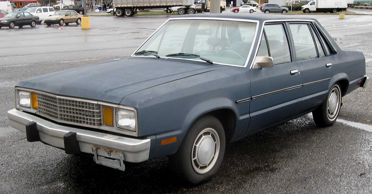 Ford Fairmont - Wikipedia