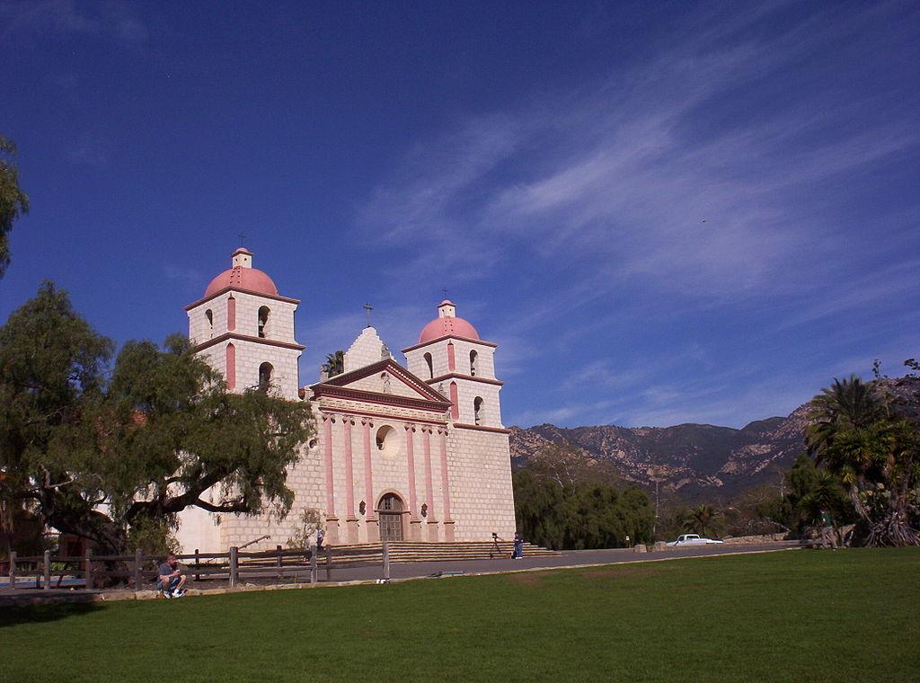 Fileold Mission Santa Barbara Californiajpg Wikimedia