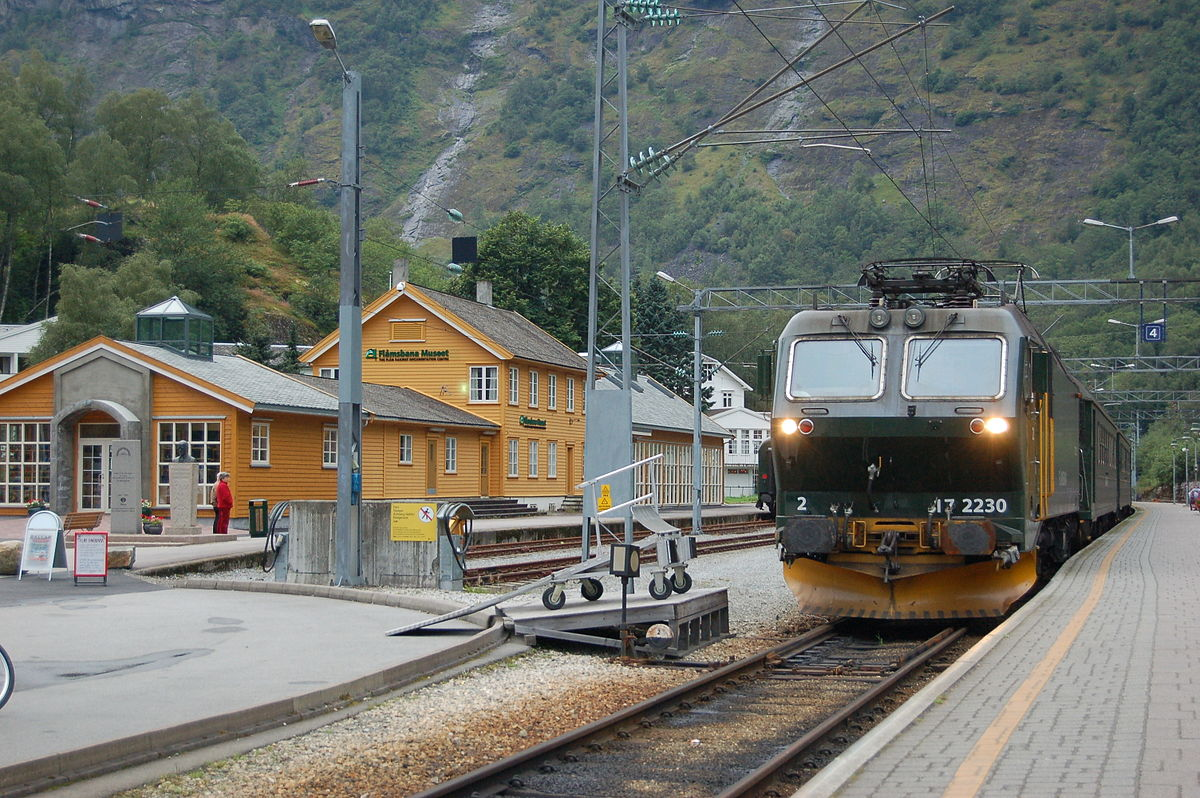 Norway Train Flåm Station Wikipedia