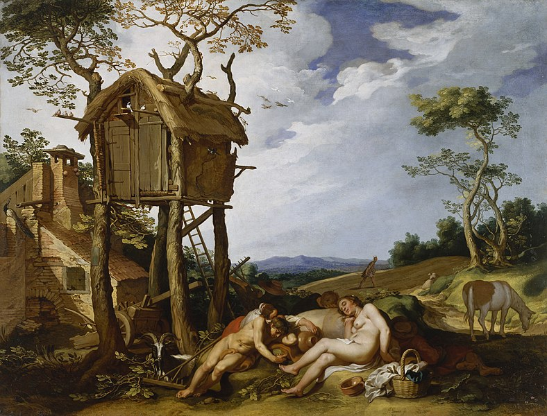 File:Abraham Bloemaert - Parable of the Wheat and the Tares - Walters 372505.jpg
