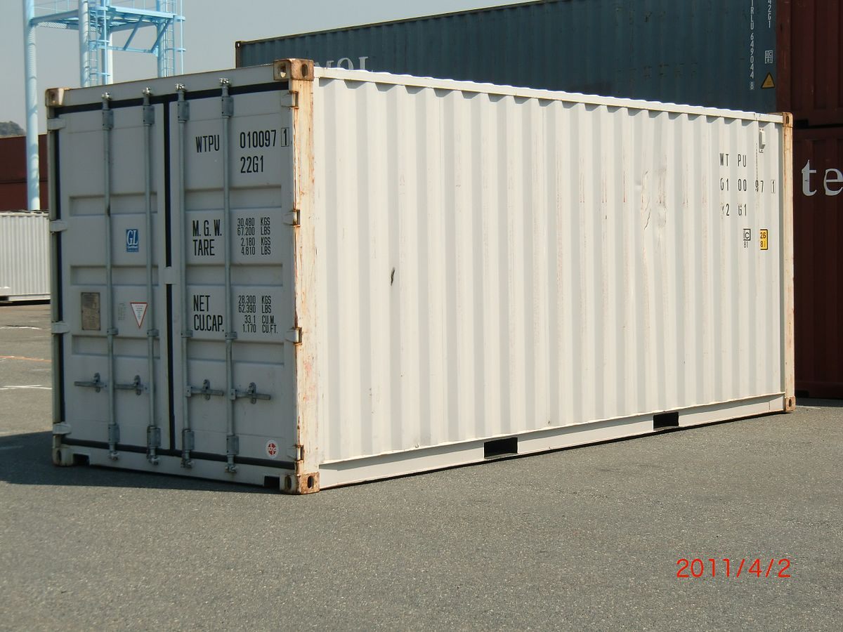 Rumah Box Container Twenty Foot Equivalent Unit Wikipedia