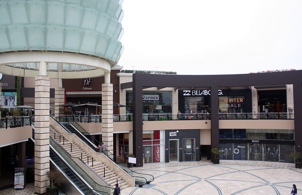 Moderne Stores File Lima Peru Modern Shopping Mall Jpg Wikimedia Commons