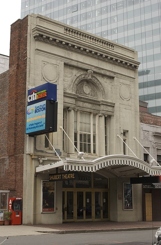 Shubert Theatre (Boston) - Wikiwand