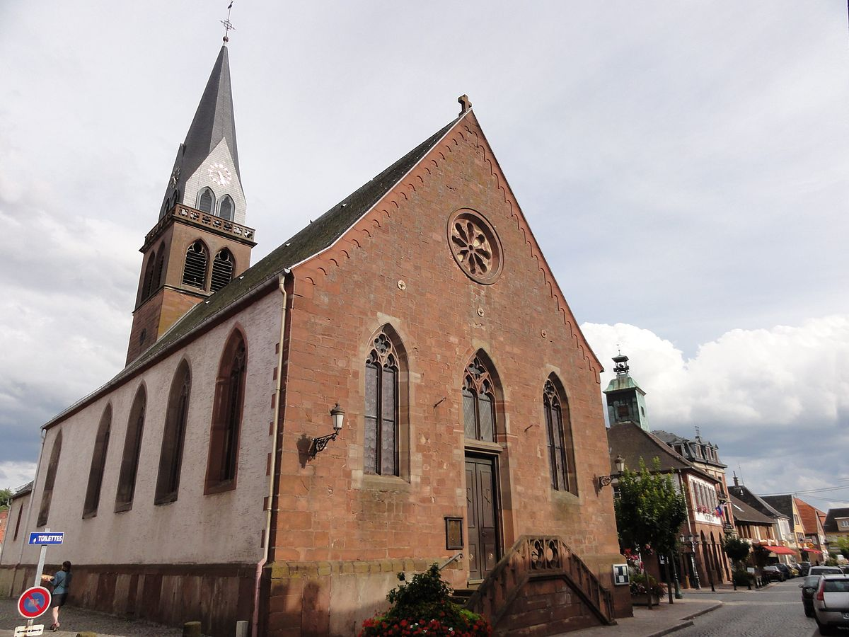 Exterieur Welcome Église Protestante (ingwiller) - Wikimedia Commons