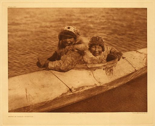 Kayak: By Edward S. Curtis Collection