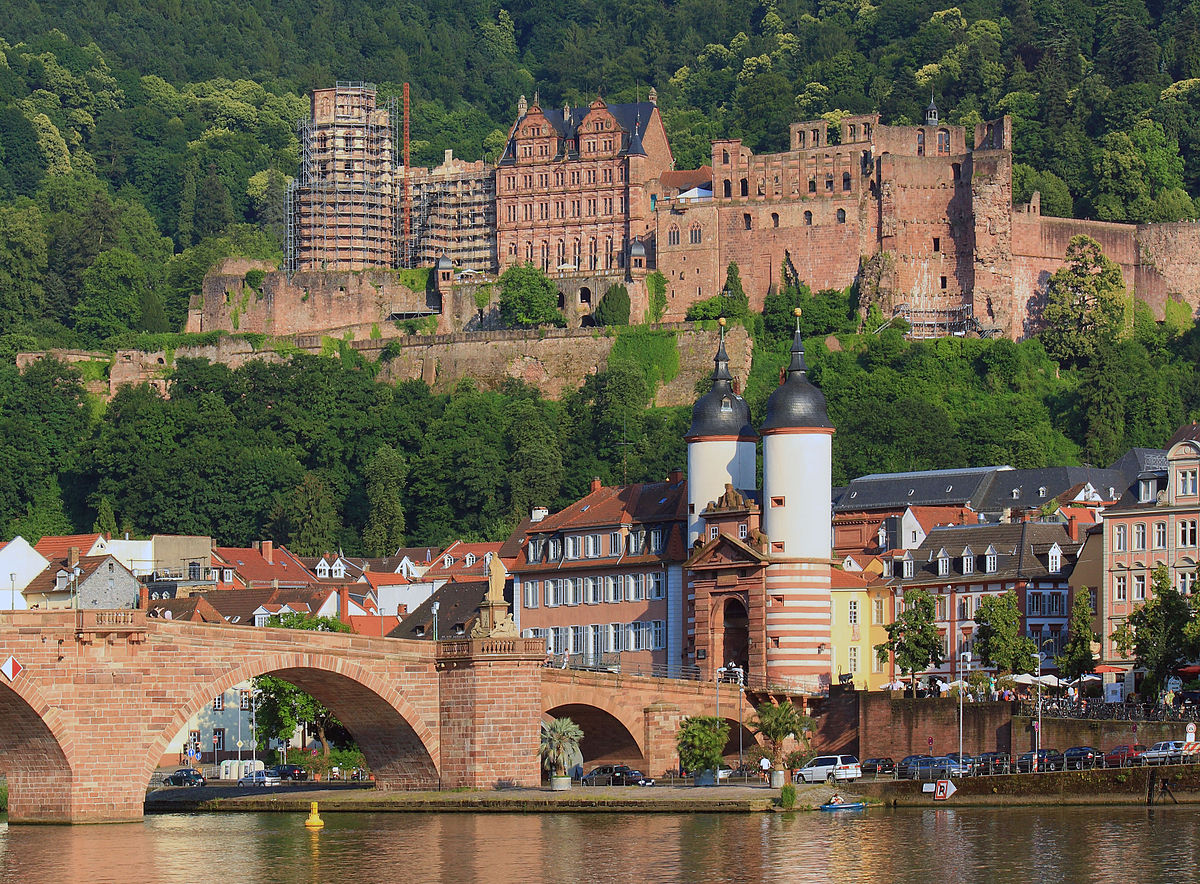 Heidelberg Alemania Heidelberg Travel Guide At Wikivoyage