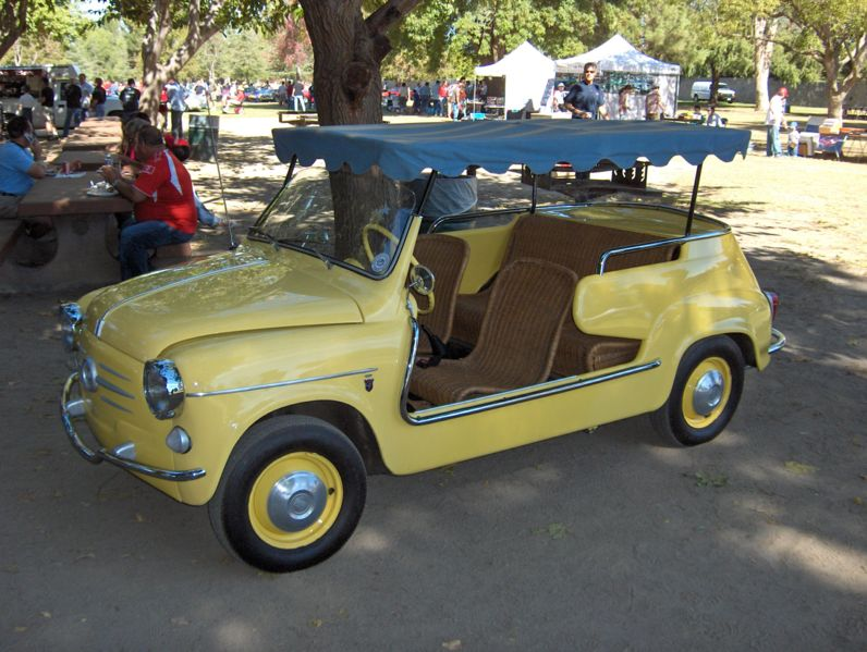 Buggy Mini Cabrio Fiat 500 Tender Two By Castagna Beach Buggy