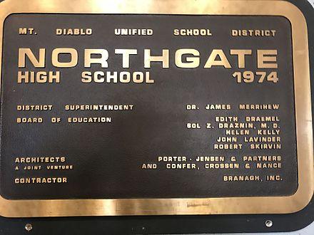 Northgate High School (Walnut Creek, California) - Wikiwand