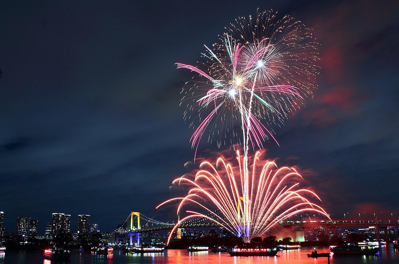 Hd Wallpaper Cars 2 File Rainbow Bridge Tokyo Fireworks 5 Jpg Wikimedia