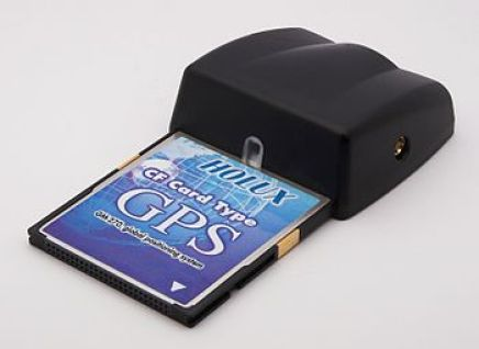 English: CompactFlash GPS Receiver