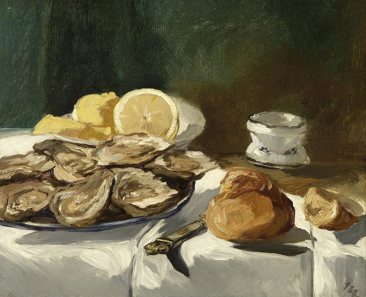 Les Location File:Édouard Manet - Nature Morte, Huîtres, Citron